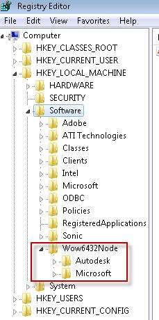 64-bit originated package on 32-bit client
