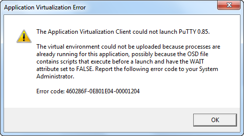 App-V error message -00001204 for pre-streaming script