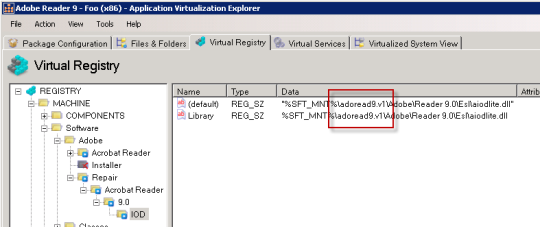 Virtual registry not updated correctly on Sequencer -based branching