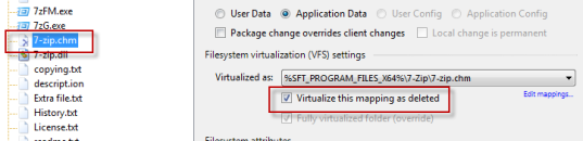 Deleted VFS file in AVE