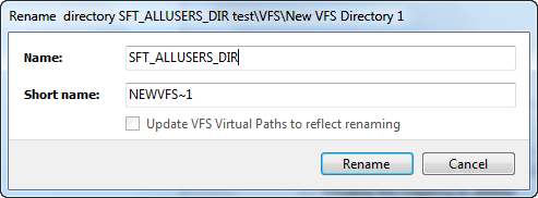 Renamed dialog for virtual directory
