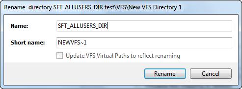 Renamed dialog for virtual directory