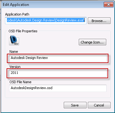 Application NAME and VERSION in App-V Sequencer