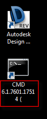 Shortcut created without DISPLAY