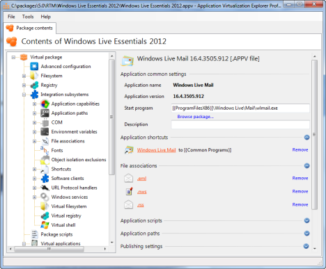 Application Virtualization Explorer 3.0